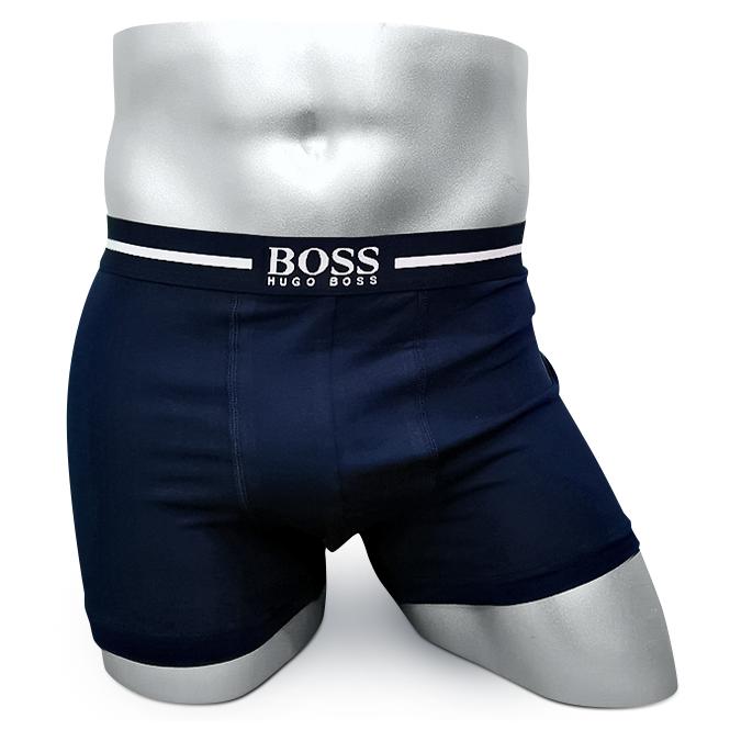 Мужские боксеры HUGO BOSS синие BS04