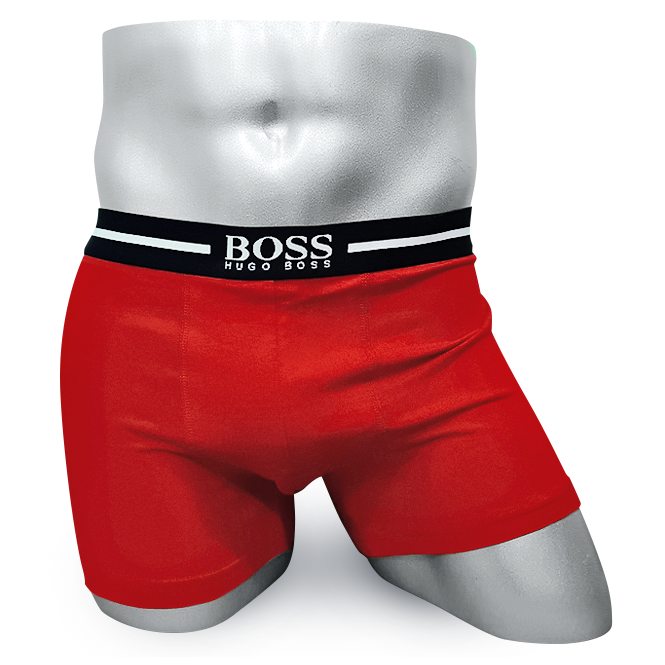 Мужские боксеры HUGO BOSS красные BS05